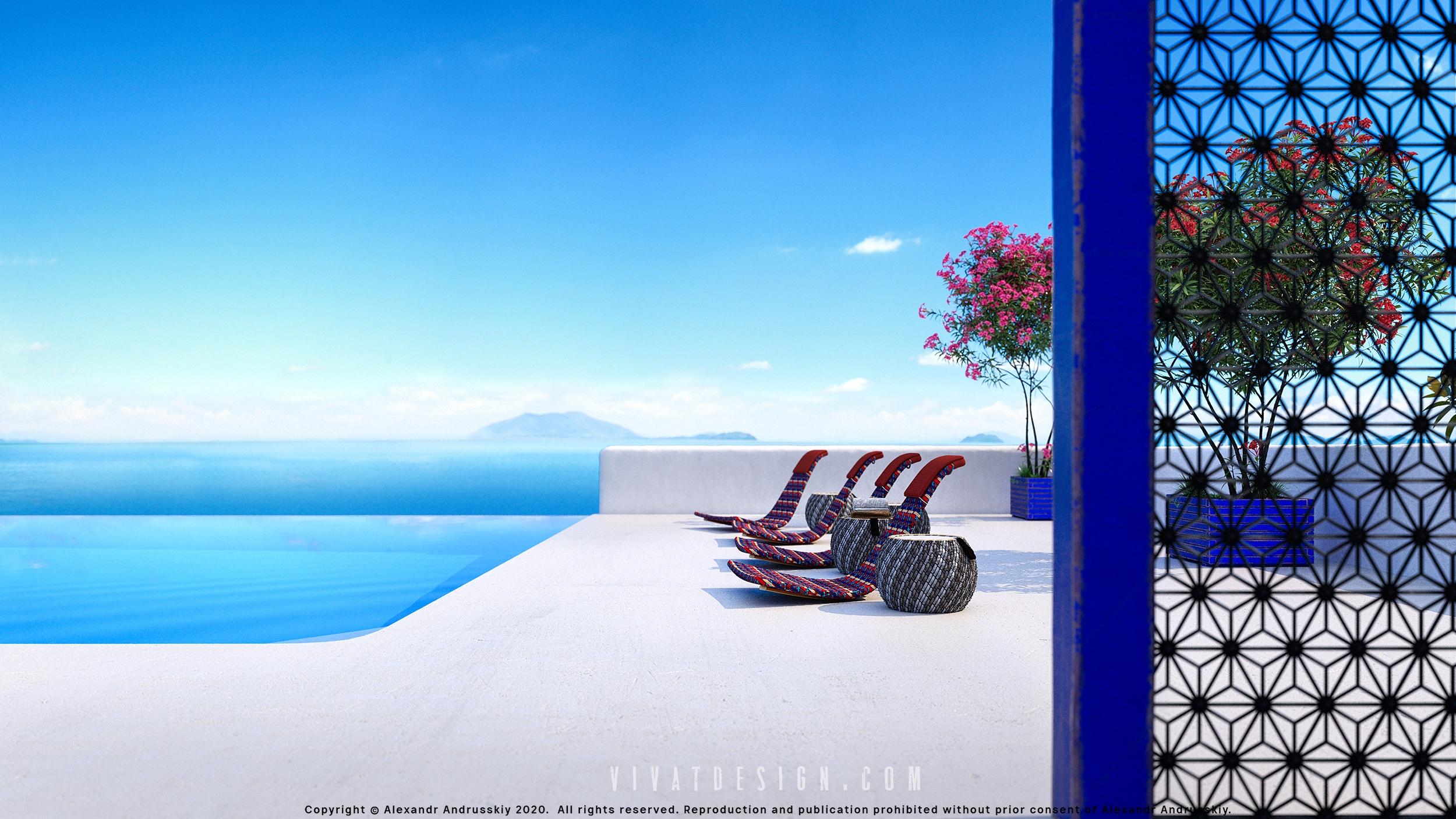 Фото Терраса в Греции